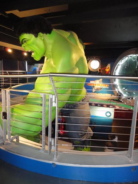 El incredible Hulk