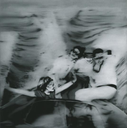 Motor Boat, 1965, por Gerhard Richter.