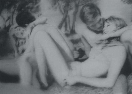 Two Couples, 1966, por Gerhard Richter.
