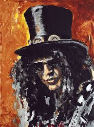 Slash por Ron Wood