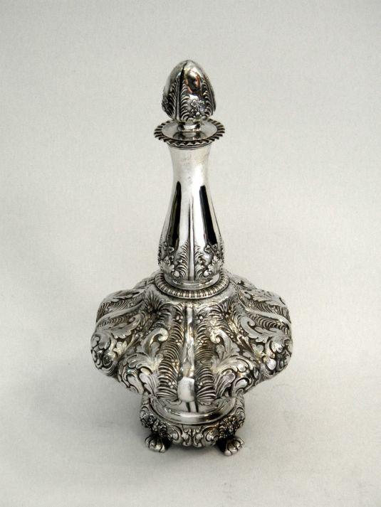 Perfumero de la joyería Tiffany & Co.  Esatos Unidos, 1880.