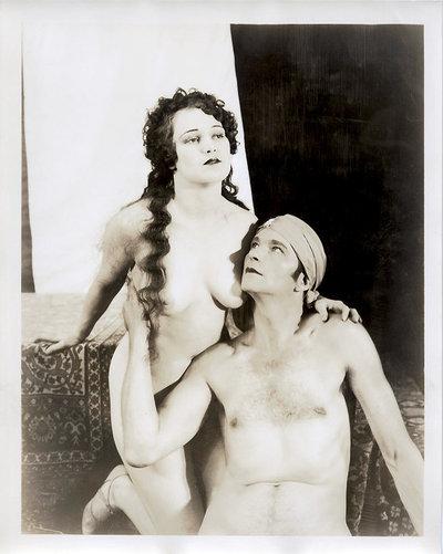 pareja desnuda