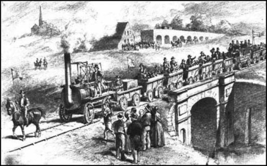 trains Stockton y Darlington