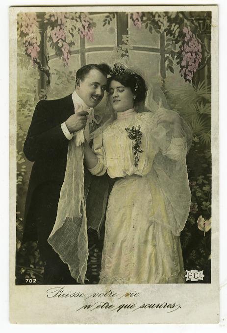 boda vintage francia 1908