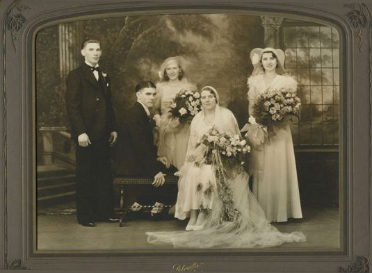 boda vintage pittsburg art deco 1920