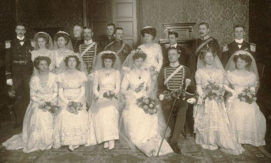 boda vintage suecia 1900
