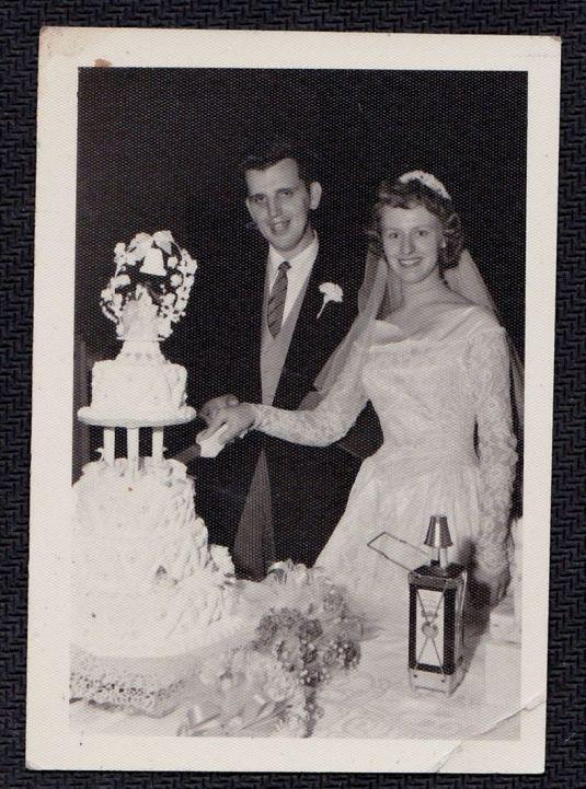 boda vintage usa 1950