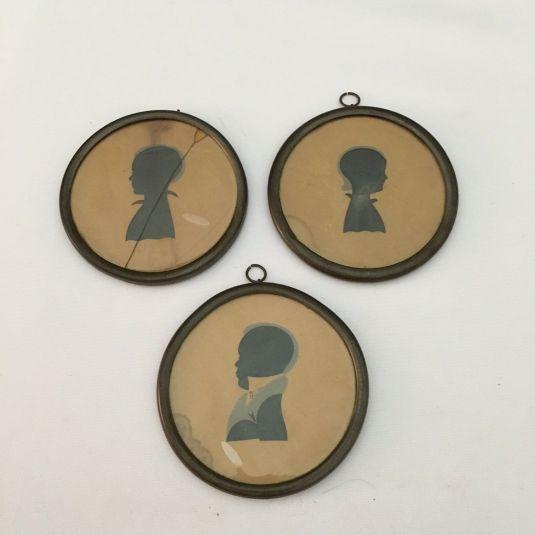 peltre retratos ninos de la artista Elizabeth Bascom 1829