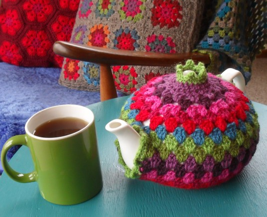 crochet forro tetera