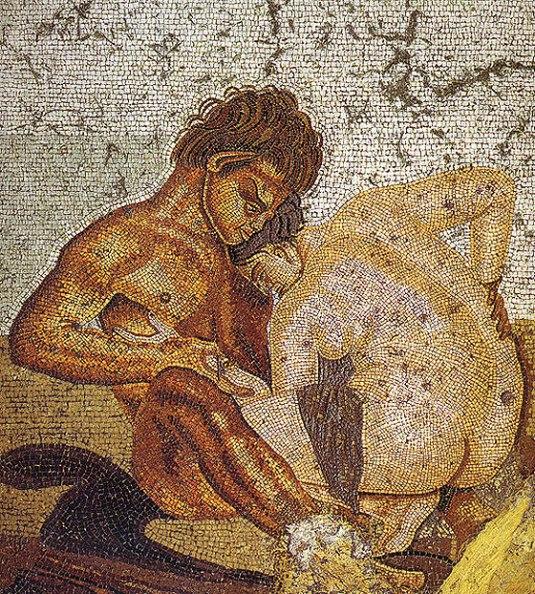 eros antiguos mosaico erótico de pompeya
