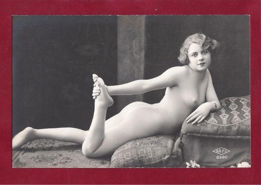 eros foto francesa 1920 art deco