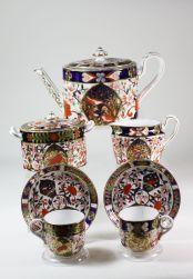 Juego de té Imari de 1877.
