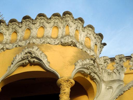casa courret detalle ornamental