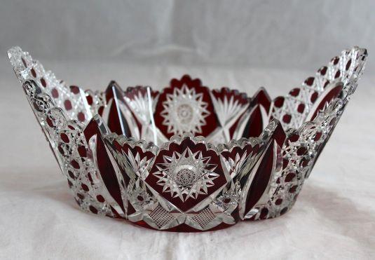 cristal baccarat rubí francia 1850
