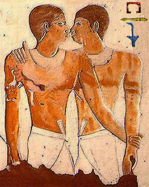 gay matrimonio entre Niankhkhnum and Khnumhotep Egipto 2400 antes de Cristo
