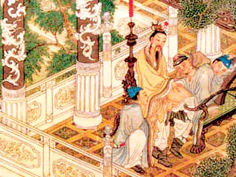 gay pintura China siglo XVIII