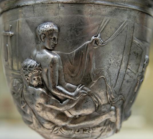 gay WARREN CUP BRITISH MUSEUM Greek Gay Culture foto flickr