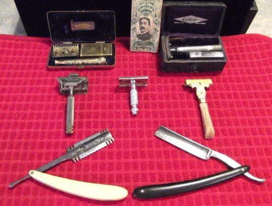 barbería antiguas razuradoras USA