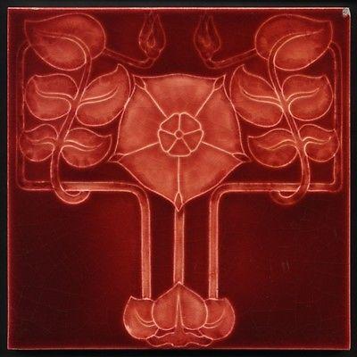 mayólica art nouveau fabricada por Godwin & Hewitt Reino Unido 1902