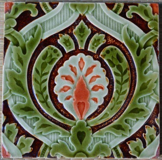 mayólica art nouveau fabricada por Villeroy & Boch Germany 1900