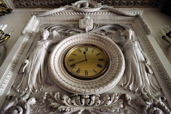 reloj de Buckingham Palace es uno de los mas grandes