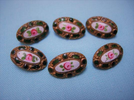 boton-esmaltado-juego-frances-de-flores-de-1880