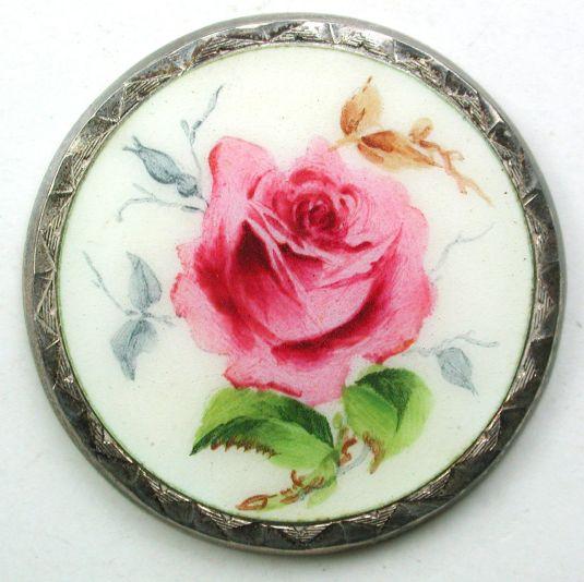 boton-esmaltado-plata-victoriano-rosa