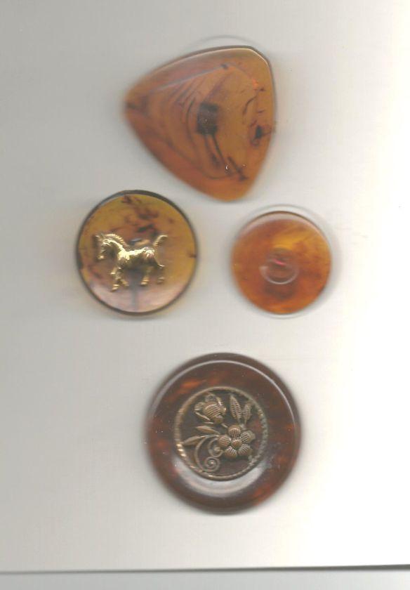 carey antiguos botones de carey de diferentes formas y tamanos