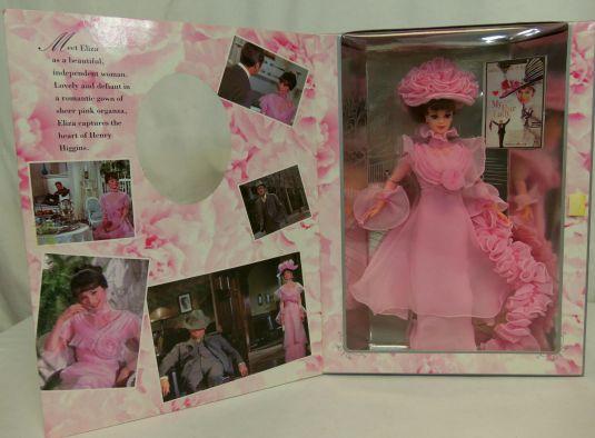 Audrey Hepburn 1995 muneca BARBIE de ELIZA DOOLITTLE de la película My Fair Lady