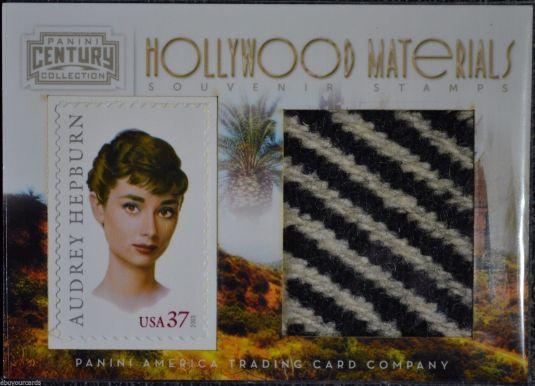 Audrey Hepburn estampilla de souvenir Estados Unidos 2003