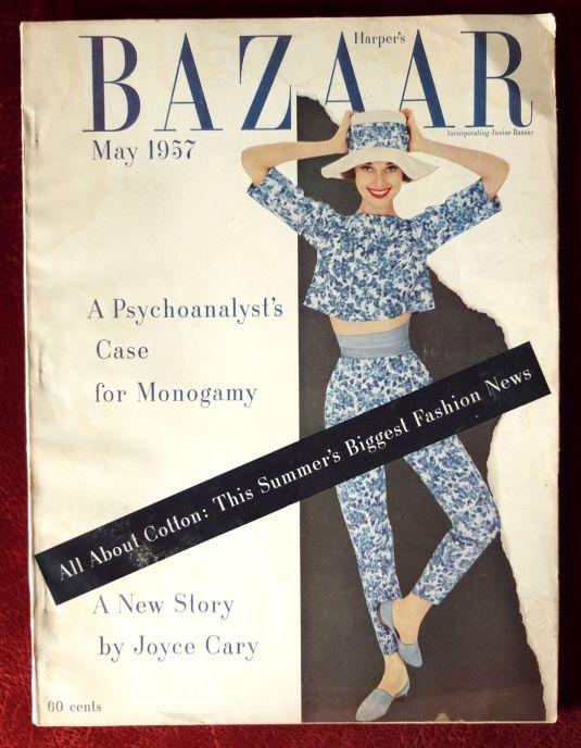 Audrey Hupburn revista Harper's Bazaar, Estados Unidos, mayo 1957 foto de Richard Avedon