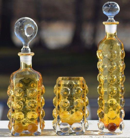 decanters Hollywood regency