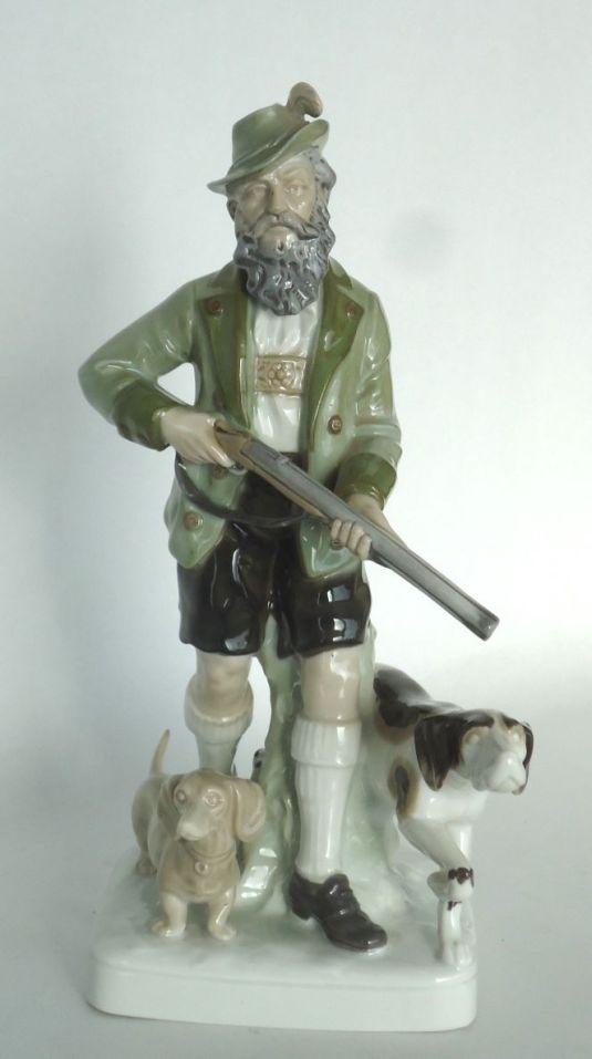 oficio cazador de porcelana Grafenthal , Alemania mediados siglo XX