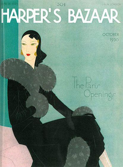 reynaldo luza carátula de la revista harpers bazaar 1930