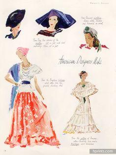 reynaldo luza ilustración de 1950