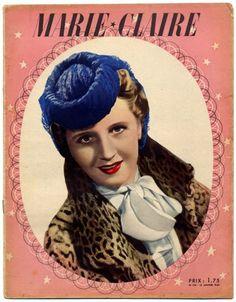 reynaldo luza portada de Marie Claire 1927