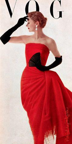 reynaldo luza portada de Vogue fotografia de 1950