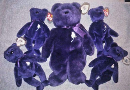 Diana colección de BEANIE BEARS LADY DI