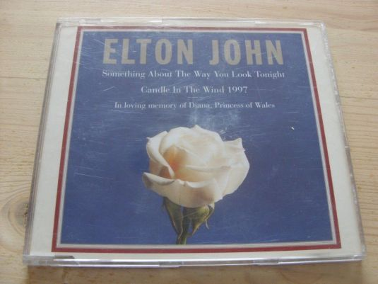 Diana Elton John Candle in the Wind 1997 (Diana, Princess of Wales) CD Single