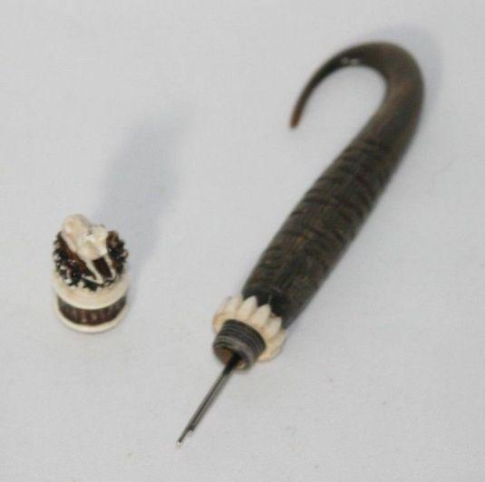 porta agujas de cacho bávaro Alemania 1860