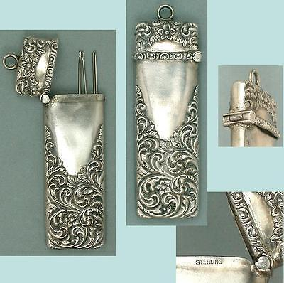 porta agujas de plataEstados Unidos 1890